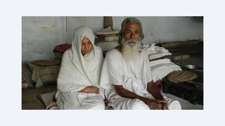 Ein Baul und seine Partnerin, die Baulani, in Kushtia (Bangladesch); Foto: Sudipto Chatterjee