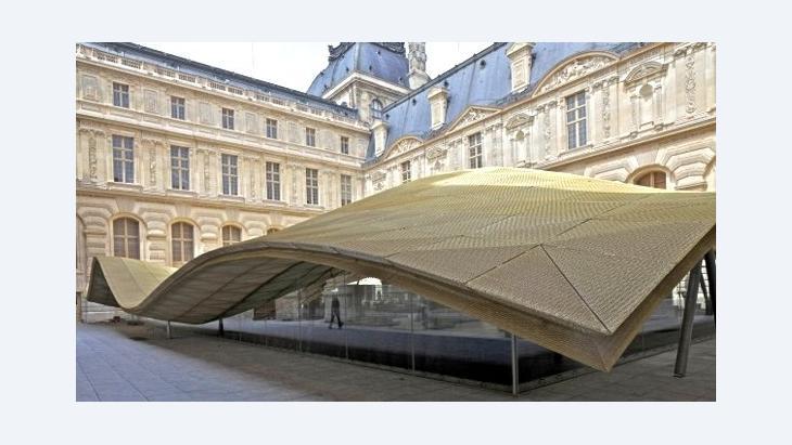 Kunst aus den Anfängen des islamischen Reichs im Cour Visconti im Louvre; Foto: © Louvre