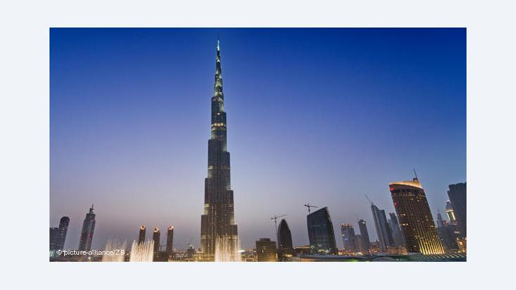 Burj Khalifa in Dubai; Foto: dpa