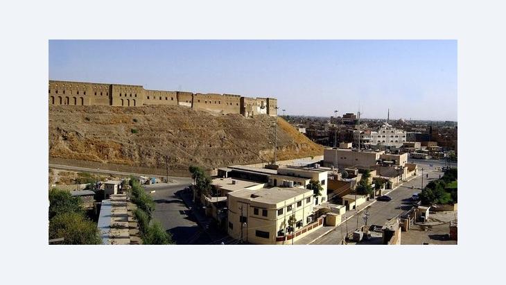Stadtansicht von Erbil in Irak-Kurdistan, Foto: dpa