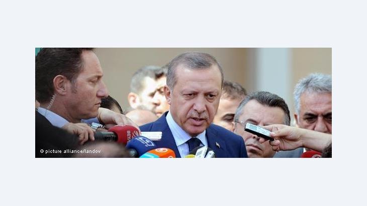 Der türkische Ministerpräsident Recep Tayyip Erdogan; Foto: picture-alliance