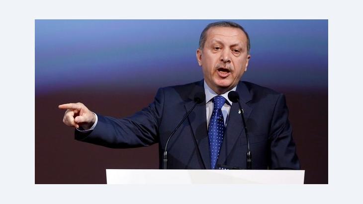 Der türkische Ministerpräsident Recep Tayyip Erdogan; Foto: dpa