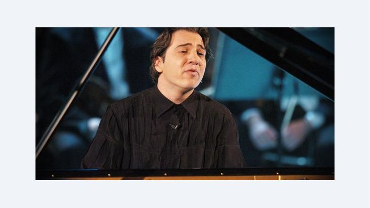 Fazil Say; Foto: picture-alliance/Sven Simon