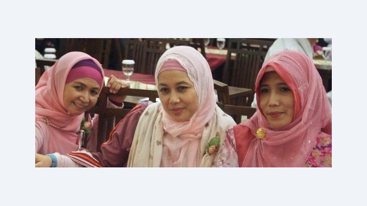 Junge Indonesierinnen; Foto: AP