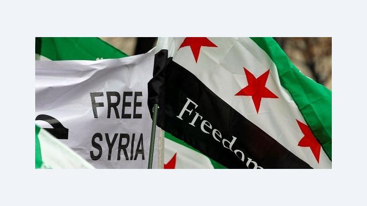 Proteste gegen das Assad-Regime in Syrien; Foto: dapd/AP