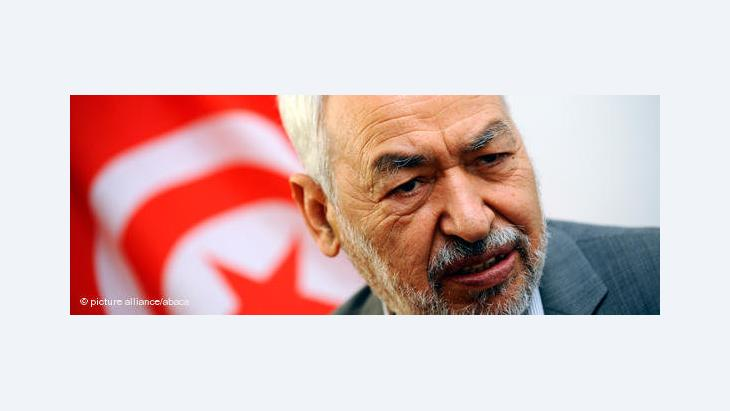 Rachid Ghannouchi; Foto: picture alliance