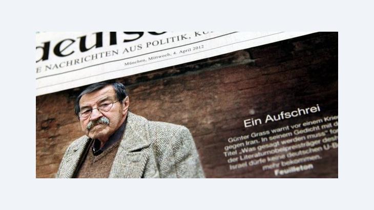 Günter Grass; Foto: Stephan Jansen dpa/lby