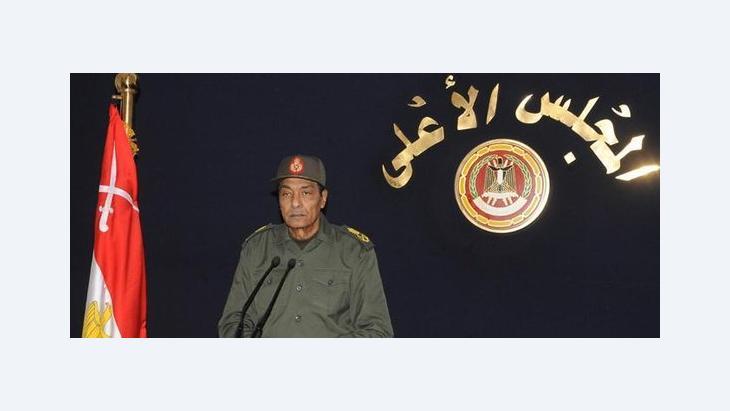 Mohamed Hussein Tantawi, Vorsitzender des Obersten Rats der Streitkräfte in Ägypten, Foto: dapd