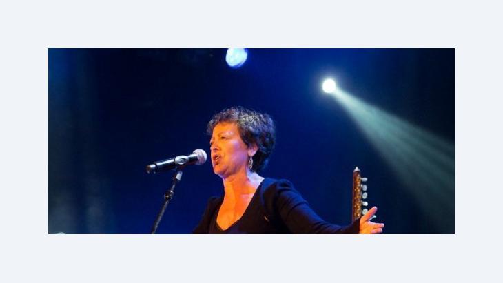 Die algerische Sängerin Houria Aïchi; Foto: maritimtim.blogspot.com