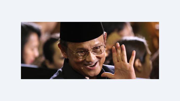 Indonesiens Ex-Präsident Jusuf Habibie; Foto: AP