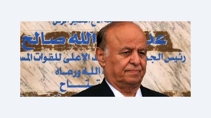 Abed Rabbo Mansur Hadi; Foto: Epa