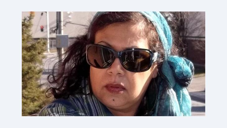 Die irakische Schriftstellerin Hadiya Hussein; Foto: privat