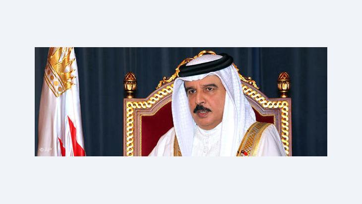 Bahrains König Hamad bin Isa al-Chalifa; Foto: AP
