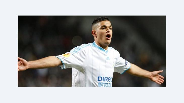 Hatem Ben Arfa von Olympique Marseille im Spiel gegen FC Copenhagen; Foto: dpa