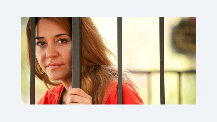 Die syrische Ex-Moderatorin Honey al-Sayed, Foto: picture-alliance/landov