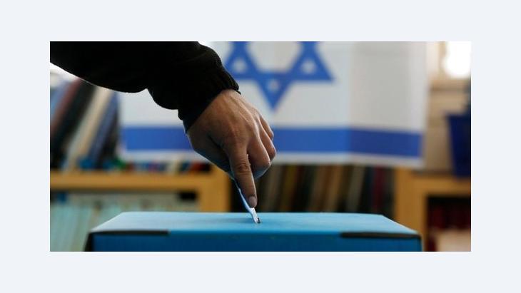 Stimmabgabe in Israel; Foto: Reuters