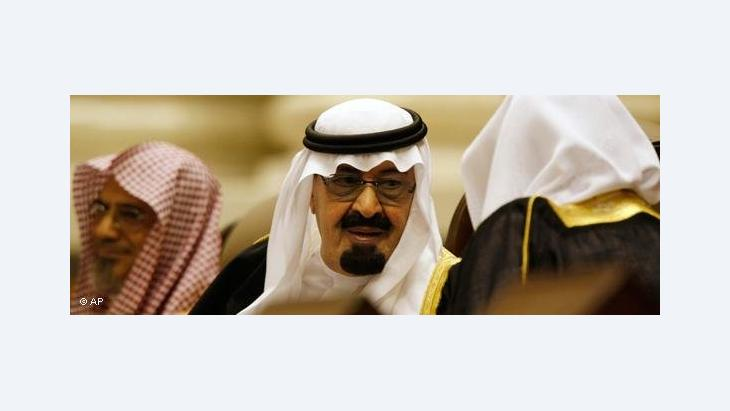 Saudischer Herrscher König Abdullah; Foto: AP
