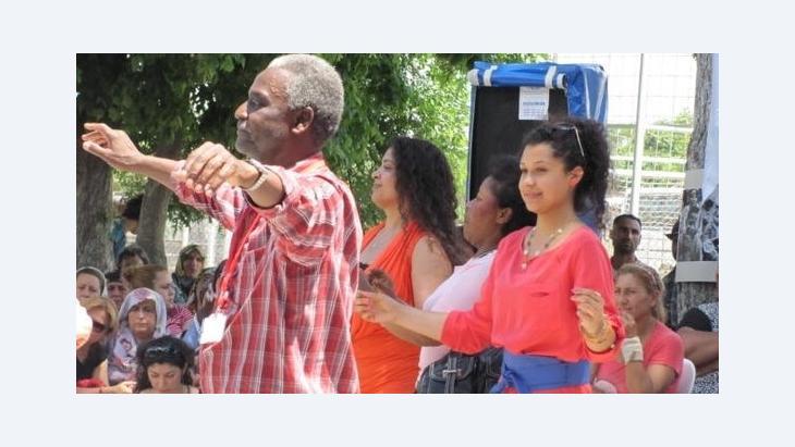 Tanzende Afrotürken auf dem Kalbsfest 2012, Foto: Ekrem Güzeldere