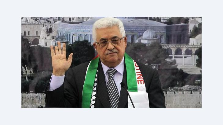 Palästinenserpräsident Mahmoud Abbas in Ramallah; Foto: AFP/Getty Images