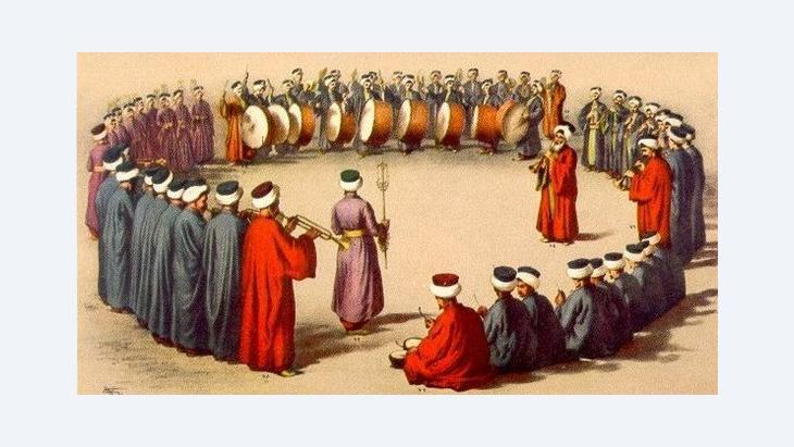 Mehterhane Musiker in Albanien; Foto: wikipedia