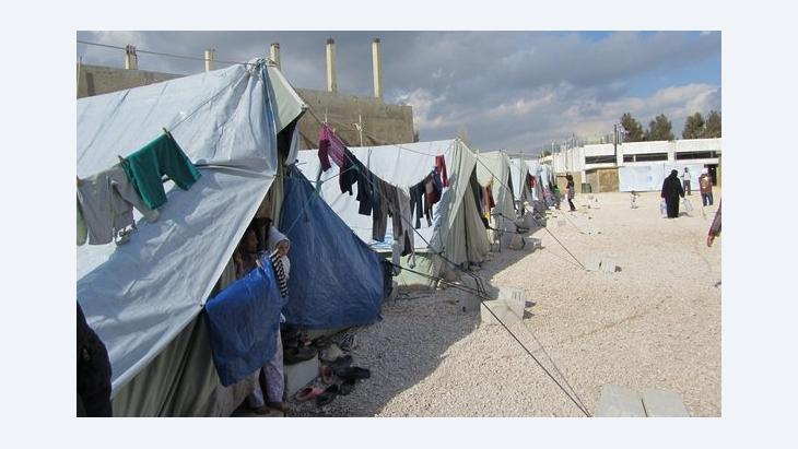 Aufnahmezentrum für Flüchtlinge in Marj, Libanon; Foto: Susanne Schmelter