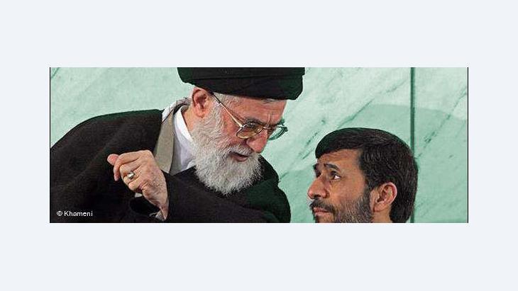 Ali Chamenei und Ahmadinedschad; Foto: khameni.ir/DW