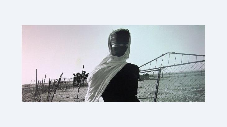 Kunstwerk von Reem al Faisal; Foto: Kersten Knipp