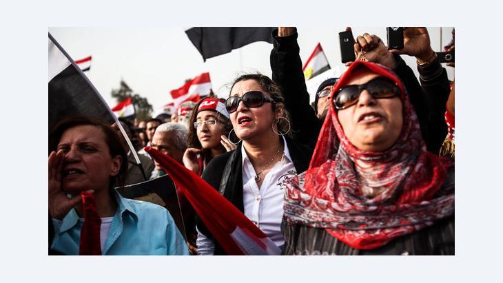 Proteste gegen die Muslimbruderschaft in Kairo, Foto: picture-alliance/landov