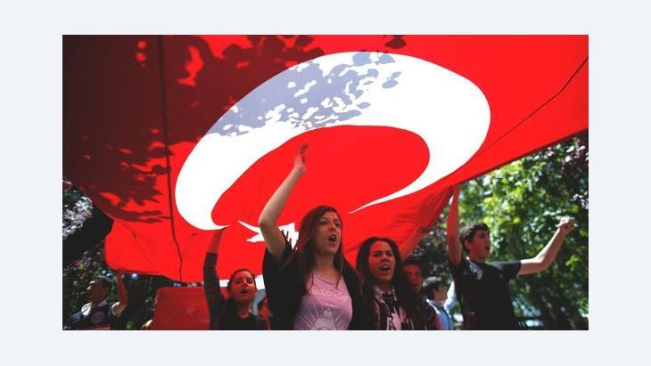 Proteste gegen die Bauvorhaben der Erdoğan-Regierung im Gezi-Park; Foto: Reuters