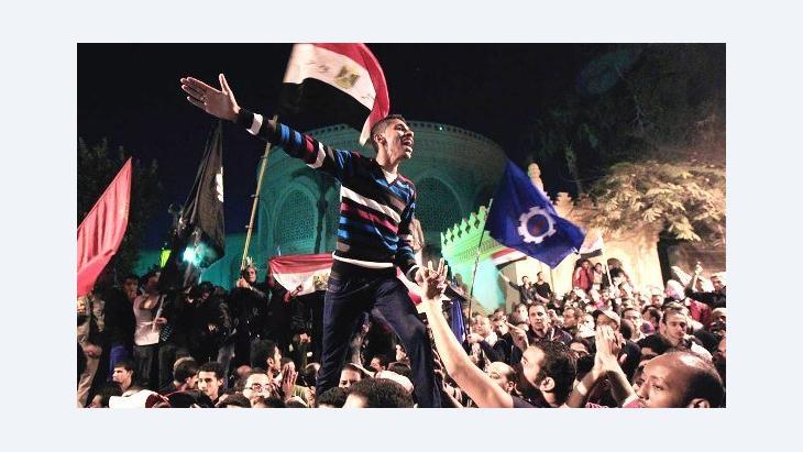 Proteste gegen den ägyptischen Präsidenten Mohammed Mursi im Dezember 2012; Foto: Reuters/Mohamed Abd El Ghany