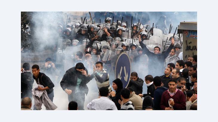 Massenproteste gegen die Regierung Mursi in Kairo; Foto: dapd
