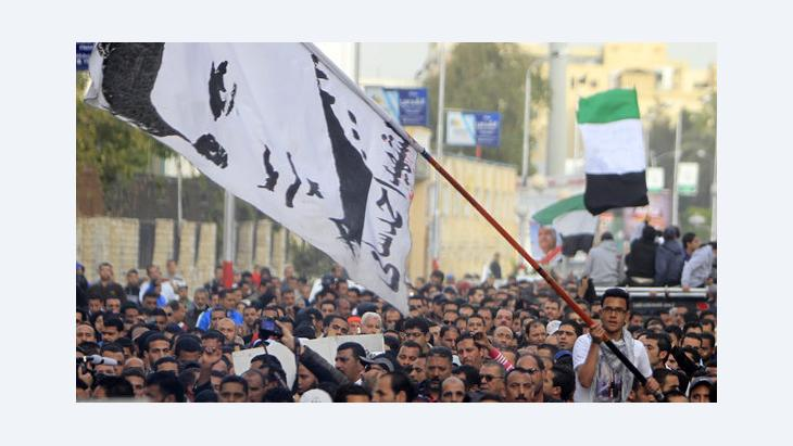 Proteste gegen Gerichtsurteile in Port Said; Foto: Reuters
