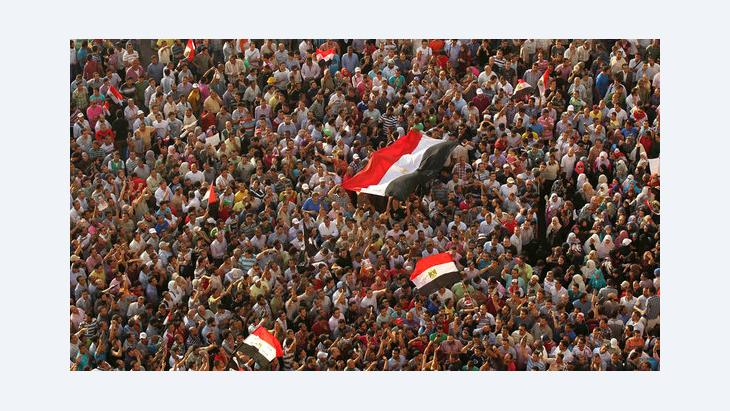Demonstration auf dem Tahrir-Platz in Kairo; Foto: Reuters