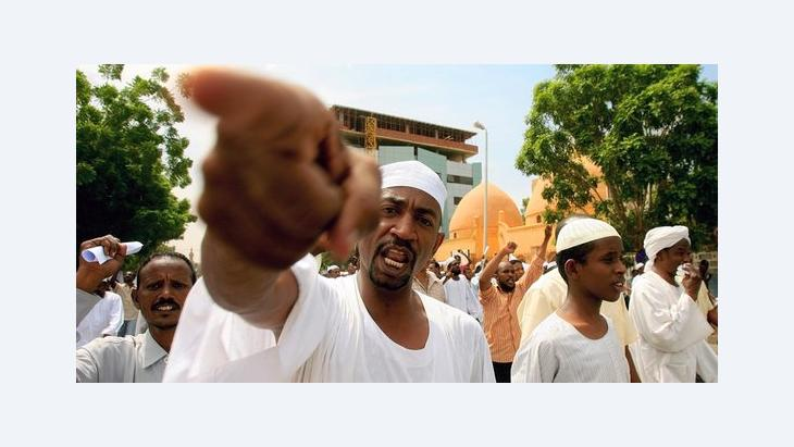 Demonstration gegen das Muhammad-Video im Sudan; Foto: Getty Images