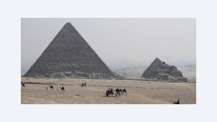 Pyramiden von Gizeh; Foto: AP
