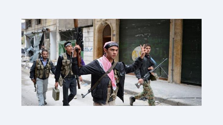 Soldaten der FSA in Aleppo; Foto: AFP/Getty Images