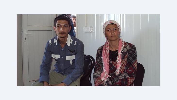 Shefat und ihr Bruder Bruder Omar; Foto: Birgit Svensson