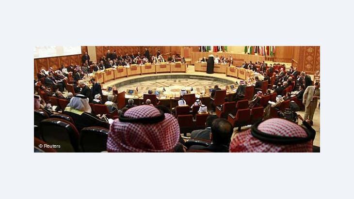 Sitzung der Arabischen Liga in Kairo; Foto: Reuters