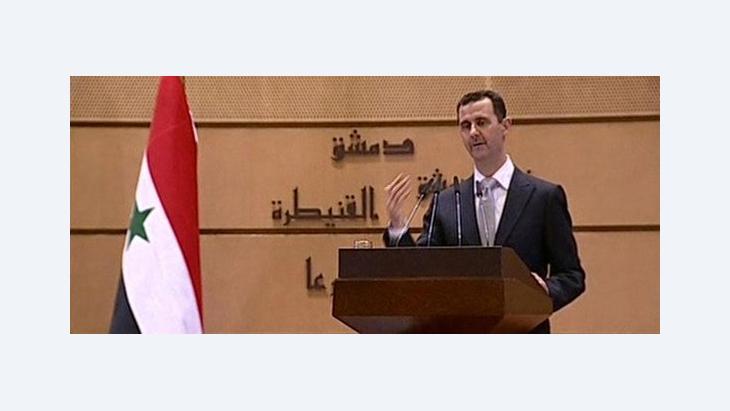 Baschar al-Assad; Foto: APTN/AP/dapd