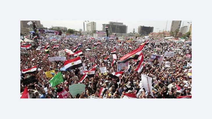 Der Tahrir-Platz im April 2012; Foto: Reuters