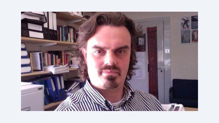 Andrea Teti, Ägypten-Experte und Dozent an der University of Aberdeen; Foto: privat