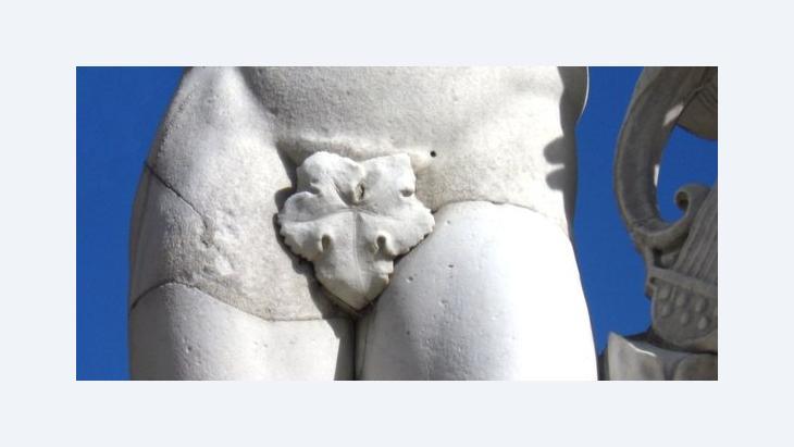 Statue mit Feigenblatt; Foto: © Qantara.de