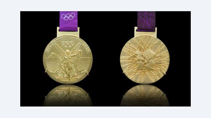 Goldmedaillen der diesjährigen Olympischen Spiele in London; Foto: veneratio- Fotolia