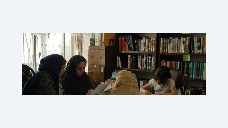 Die das persische Enzyklopädie-Projekt leitende NGO in Teheran; Foto: Alessandro Topa