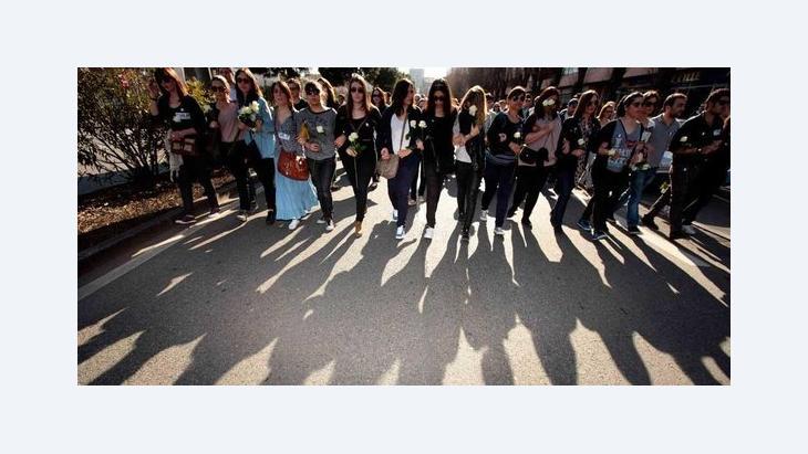 Schweigemarsch für die Opfer der Mordserie in Toulouse; Foto: REUTERS/Zohra Bensemra