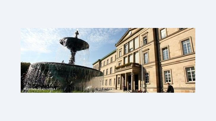 Juristische Fakultät der Uni Tübingen; Foto: dpa