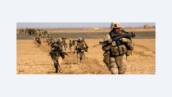 US-Marines in Helmand; Foto: AP