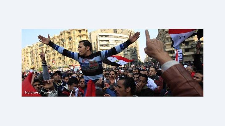 Demonstration auf dem Tahrir-Platz gegen den Obersten Militärrat in Kairo, Foto: dpa