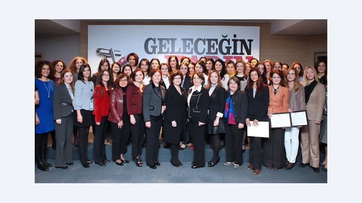 Teilnehmerinnen eines Seminars der Organisation weiblicher Unternehmerinnen in der Türkei (KAGIDER); Foto: KAGIDER