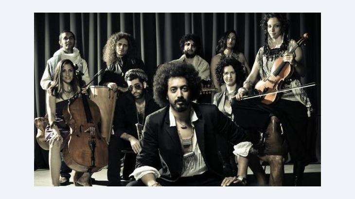 Ravid Kahalani mit seiner Band Yemen Blues; Foto: © Zohar Ron/Yemen Blues